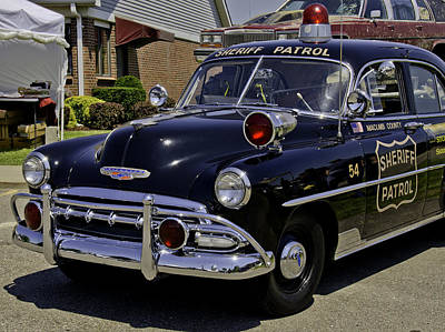 Photograph - Car 54 Where Are You by LeeAnn McLaneGoetz McLaneGoetzStudioLLCcom