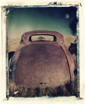 Photograph - Car And Moon by Joe  Palermo