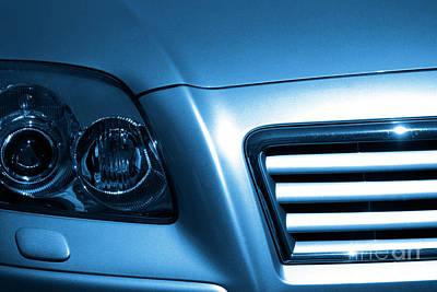 Car Face Art Print by Carlos Caetano