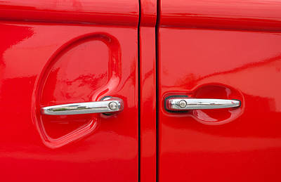 Car Handles Art Print by Hans Engbers
