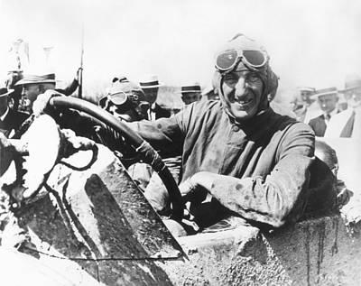 Photograph - Car Race, 1920 by Granger