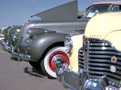 Photograph - Car Show by Lynnette Johns