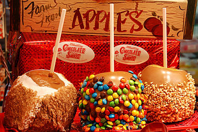 Photograph - Caramel Apples by Melany Sarafis