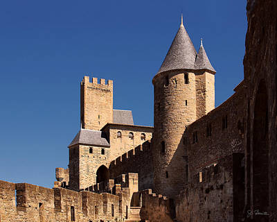 Photograph - Carcassonne Castle by Joe Bonita
