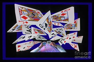 Card Tricks Art Print by Bob Christopher