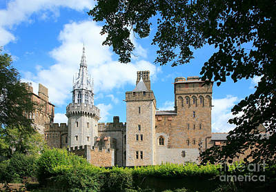 Cardiff Castle Art Print by Susan Wall
