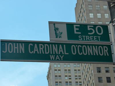 Photograph - Cardinal Oconnor Way by Richard Bryce and Family