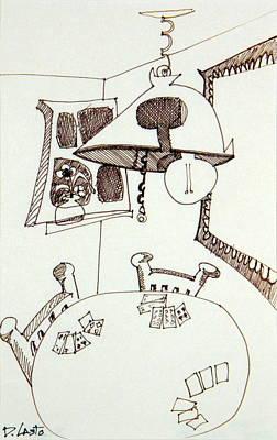 Cards Art Print by Denny Casto