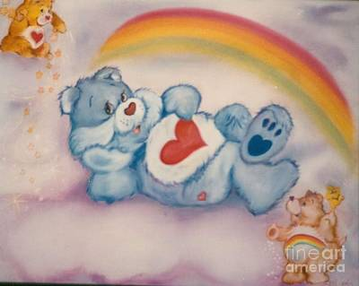 Painting - Care Bears Twinkle by Geri Jones