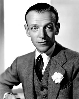 1938 Movies Photograph - Carefree, Fred Astaire, 1938 by Everett