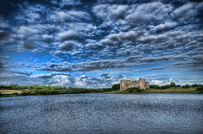 Photograph - Carew Castle Pembrokeshire 2 by Steve Purnell