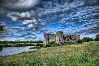 Photograph - Carew Castle Pembrokeshire 3 by Steve Purnell