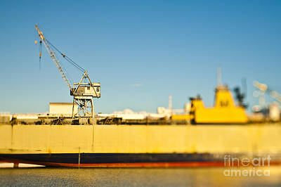 Dogpatch Photograph - Cargo Ship At Port by Eddy Joaquim