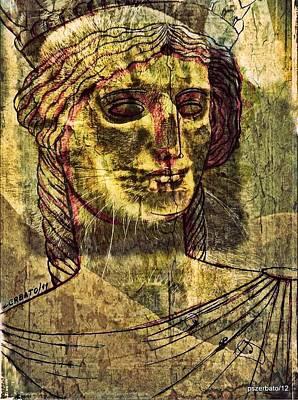Cariatides Muertas II Art Print by Paulo Zerbato