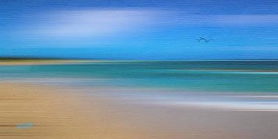 Caribbean Sea Mixed Media - Caribbean Beach by Michael Petrizzo