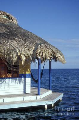 Photograph - Caribbean Cabana Roatan Honduras by John  Mitchell