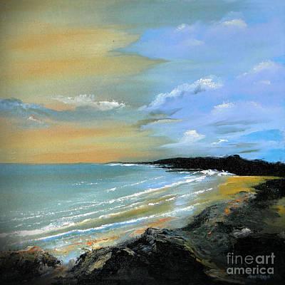 Caribbean Sea Painting - Caribbean Sea by Jose Luis Reyes