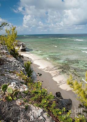 Grand Turk Island Photograph - Caribbean Shoreline by Jim Chamberlain