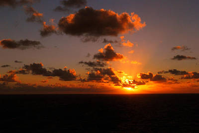 Photograph - Caribbean Sunset by Gary Wonning