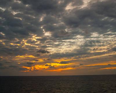 Photograph - Caribbean Sunset by Michael Flood