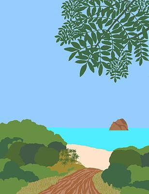 Caribe 1 Art Print