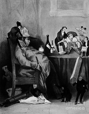 1833 Photograph - Caricature Of Hypochondriac, 1833 by Science Source