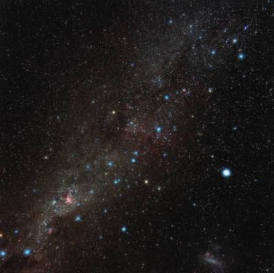 Carina Constellation Art Print by Eckhard Slawik