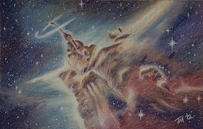 Pastel - Carina Nebula by Thomas Maynard