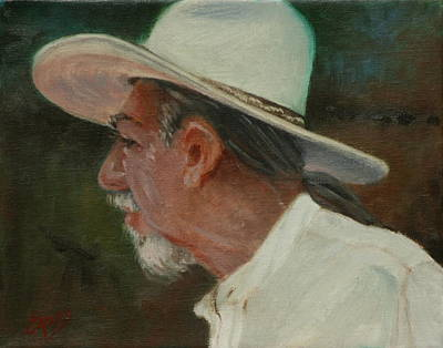 Painting - Carlos by Linda Eades Blackburn