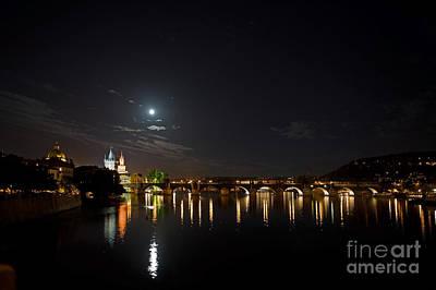Carls Bridge Prague Art Print