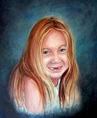 Missing Tooth Painting - Carly by Dorothy Nalls