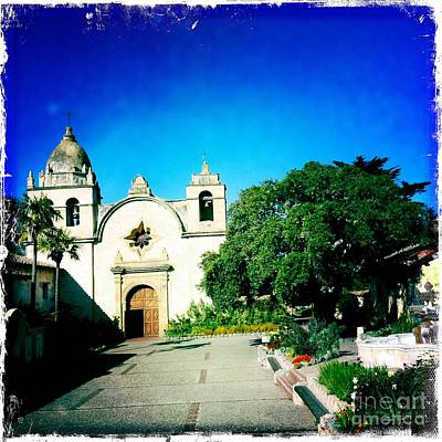 Art Print featuring the photograph Carmel Mission by Nina Prommer