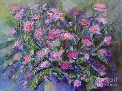 Mixed Media - Carnations by Claire Bull
