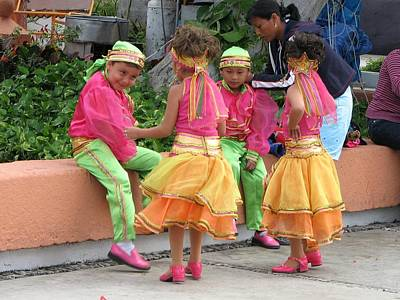 Photograph - Carnaval Children Dancers 3 by Keith Stokes