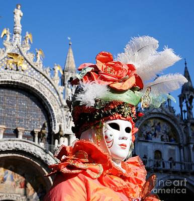 Photograph - Carnavale Di Venezia IIi by Louise Fahy