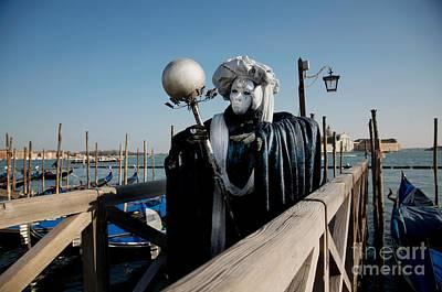 Photograph - Carnavale Di Venezia Iv by Louise Fahy