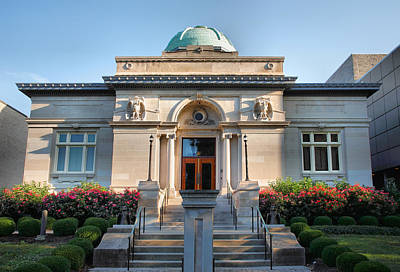 Carnegie Museum Photograph - Carnegie Library by Steven Ainsworth