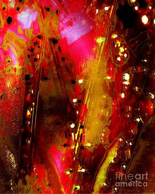 Carnival Lights Art Print by Doris Wood