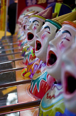 Photograph - Carnival Of Clowns by Michelle Wrighton