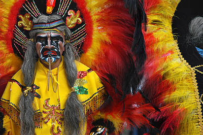 Carnival Of Oruro. Dance Of The Toba. Republic Of Bolivia. Art Print