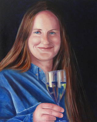 Painting - Carol Ann Thorup by Shannon Grissom