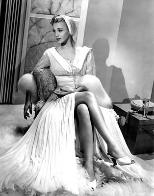 Sexy Toes Photograph - Carole Landis, Hal Roach Productionsua by Everett