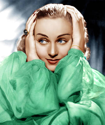 Incol Photograph - Carole Lombard, Ca. Late 1930s by Everett