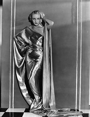 Evening Gown Photograph - Carole Lombard, In A Paramount by Everett