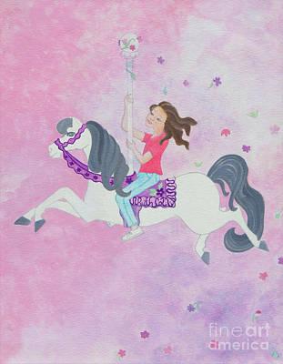 Carousel Dreams Original by Ruth Collis