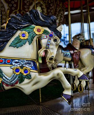 Carousel Horse 5 Art Print by Paul Ward