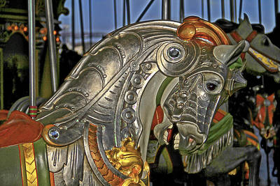 Photograph - Carousel Horse by Alice Gipson