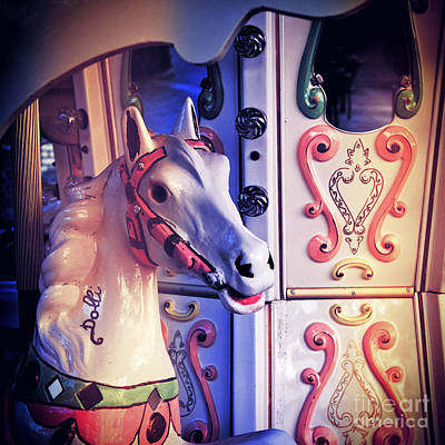 Photograph - Carousel Horse by Silvia Ganora