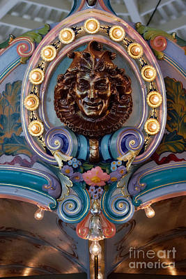 Glen Echo Park Photograph - Carousel Jester by Susan Isakson