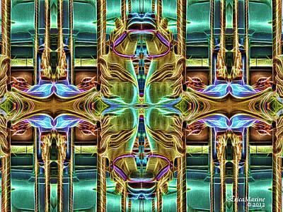 Photograph - Carousel Kaleidoscope by Ericamaxine Price